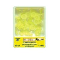 Диски НК 1,613 шлифовальные с пластиковой втулкой для окончательно шлифования д 8 мм, 0001330