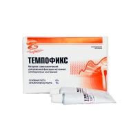 Темпофикс  без эвгенольный , (пастабазовая 50 г + паста каталитическая 15 г), 0001439