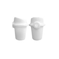 Тигель керамического типа МАНФРЕДИ малый, 0001512