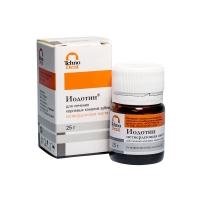 Иодотин нетвердеющая паста (25 гр), 0001538