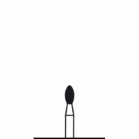 Verdent, Бор алмазный (черный) 314.277.544.018 (1 уп. / 5 шт.)