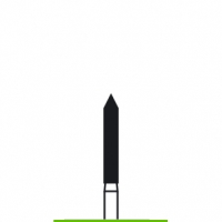 Verdent, Бор алмазный (зеленый) 314.131.534.016 (1 уп. / 5 шт.)