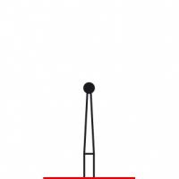 Verdent, Бор алмазный (красный) 314.001.514.016 (1 уп. / 5 шт.)