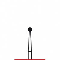 Verdent, Бор алмазный (красный) 314.001.514.018 (1 уп. / 5 шт.)