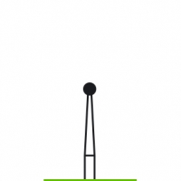 Verdent, Бор алмазный (зеленый) 316.001.534.018 (1 уп. / 5 шт.)