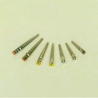 Штифты титановые №4 (208S) уп.12 шт, желтый, упак, 000542