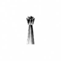 Бор твердосплавный турбинный, турбинный удлиненные (L=25 мм.) (5 шт.), 000657