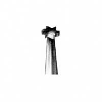 Бор твердосплавный колесовидный (пила коронков.) для прямого наконечника (5 шт.), 000659