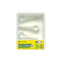 Матрицы 1,090 (3) контурные лавсановые для премоляров форма 3, (30 шт), 000935